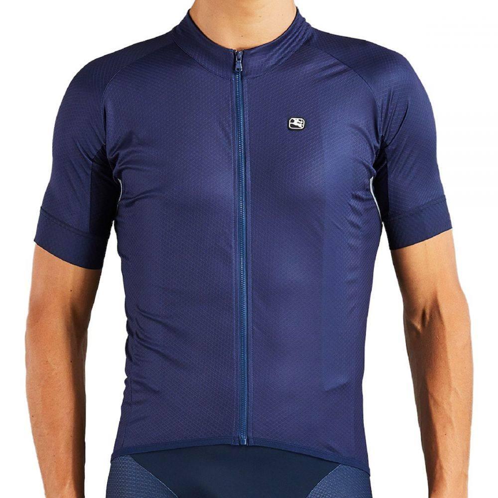 ジョルダーノ Giordana メンズ 自転車 トップス【SilverLine Classic Short - Sleeve Jerseys】Navy