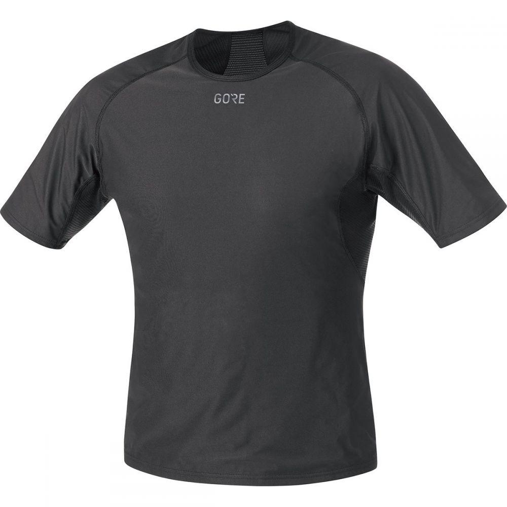 ゴアウェア Gore Gore Wear メンズ 自転車 トップス Base【Windstopper Base Shirts】Black Layer Shirts】Black, オールドギア:a8b8e72a --- acessoverde.com