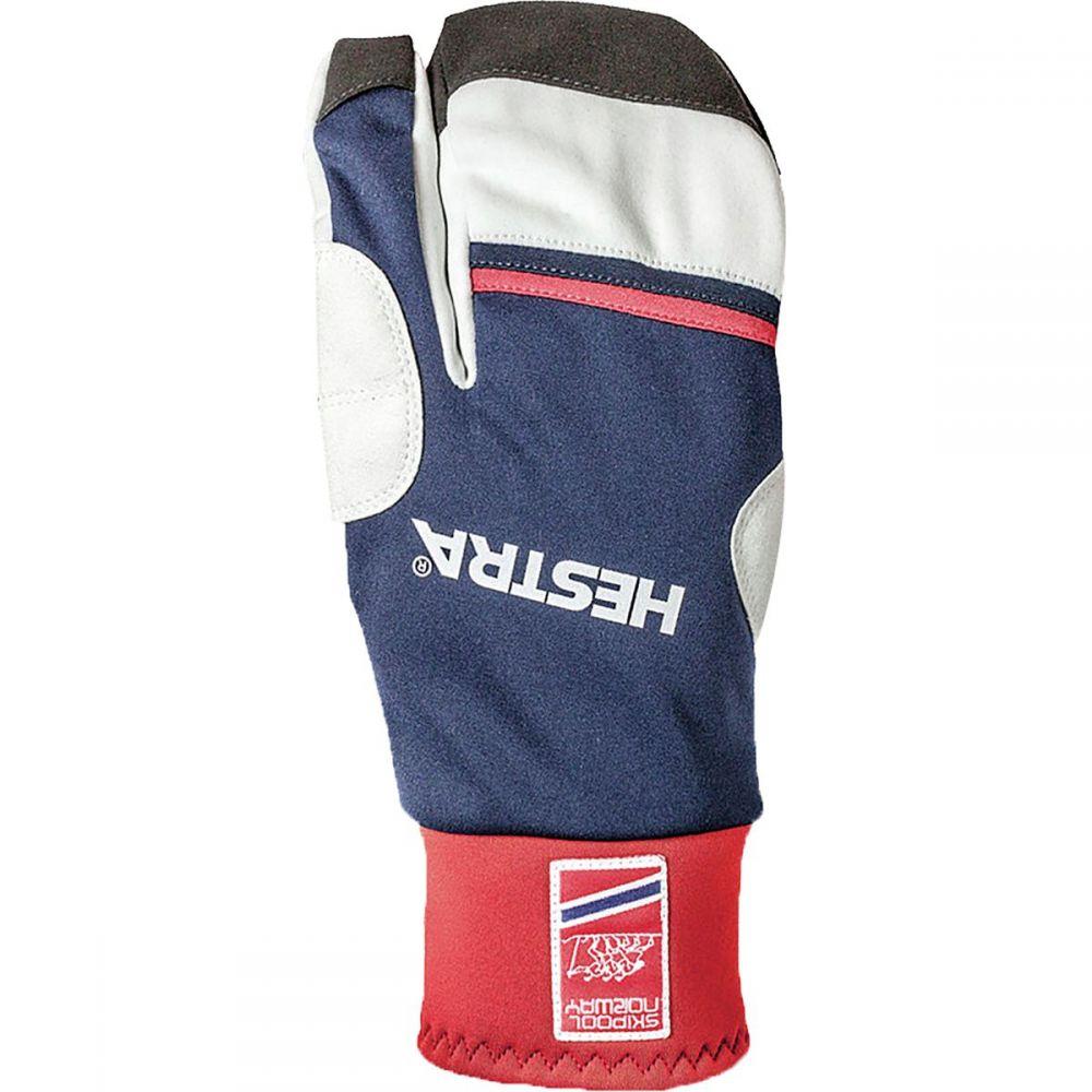 ヘスタ Hestra メンズ 手袋・グローブ【Windstopper Race Tracker 3 - Finger Gloves】Navy