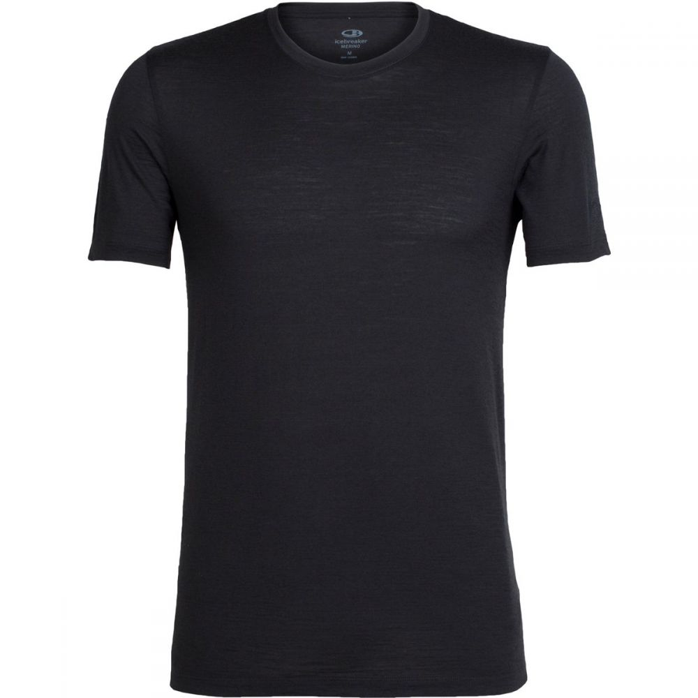 アイスブレーカー Icebreaker メンズ トップス【Tech Lite Short - Sleeve Crew Shirts】Black