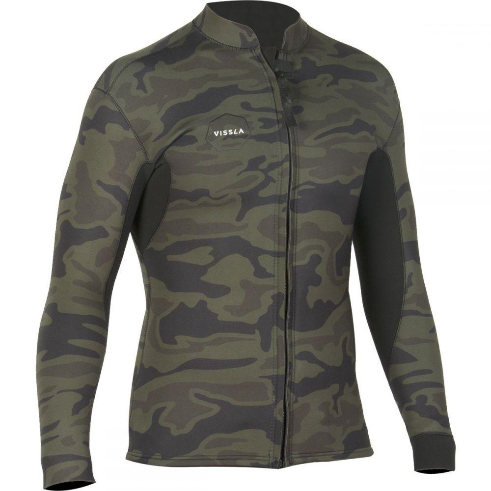 ヴィスラ Vissla メンズ 水着・ビーチウェア ウェットスーツ【Front Zip 2mm Jackets】Camo