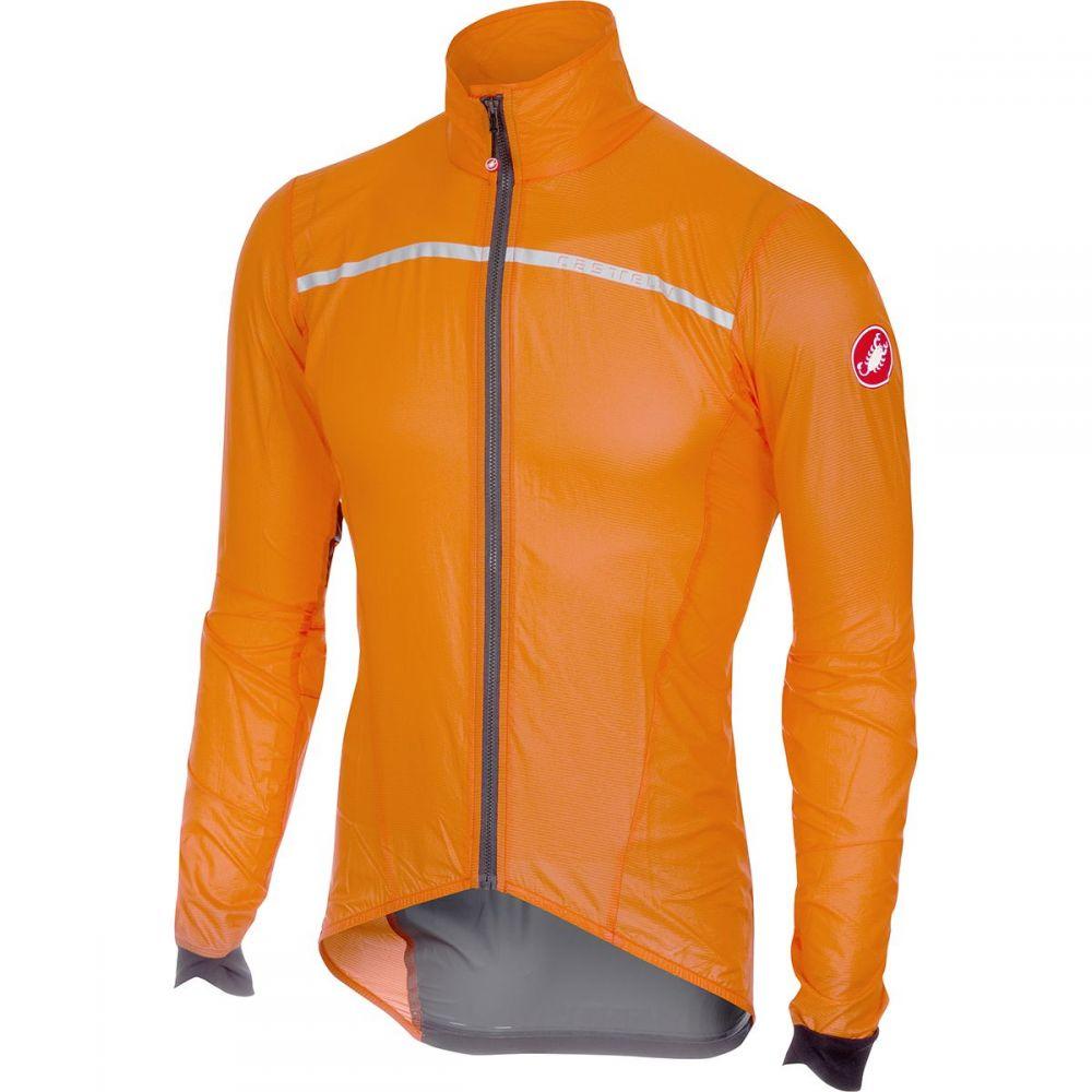 カステリ Castelli メンズ 自転車 アウター【Superleggera Jackets】Orange