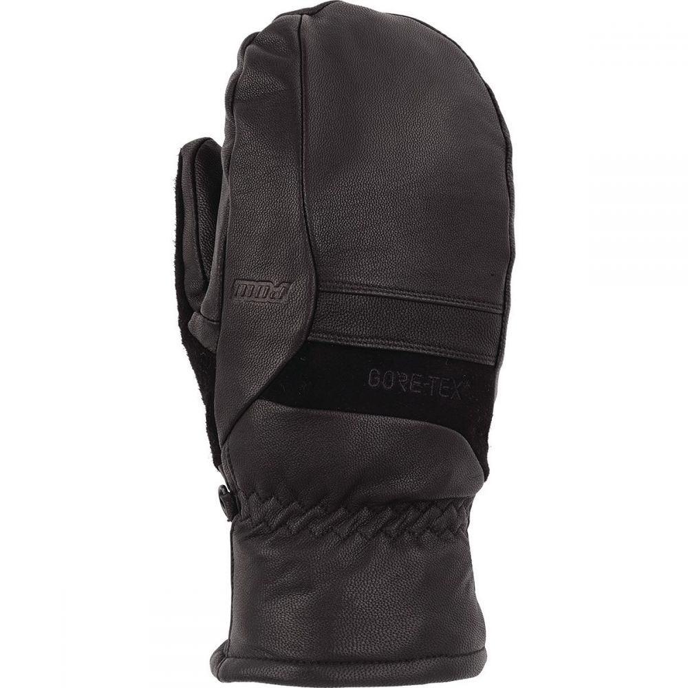 ポウグローブ Pow Gloves レディース 手袋・グローブ【Stealth GTX Mitten Plus WARM】Black