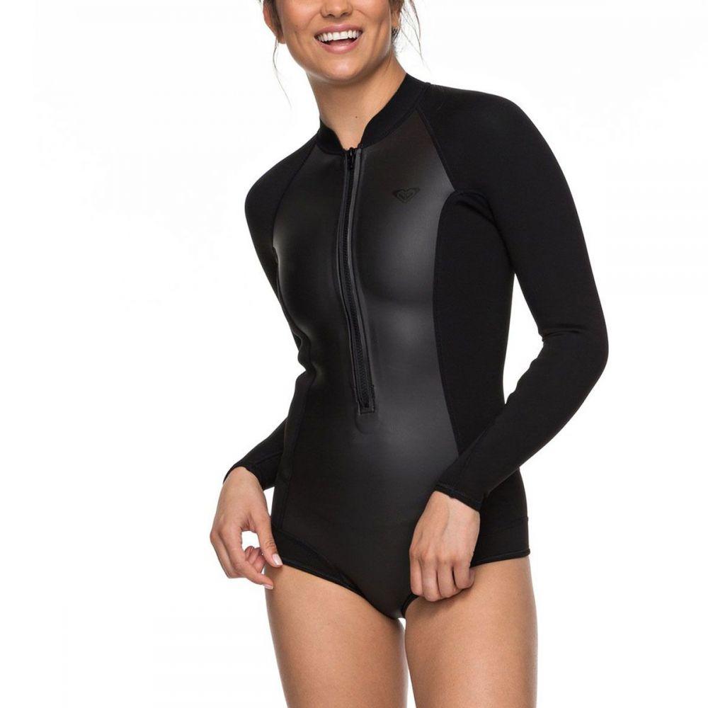 ロキシー Roxy レディース 水着・ビーチウェア ウェットスーツ【Satin 1mm Full - Zip Cheeky SP B - LC Wetsuit】Black