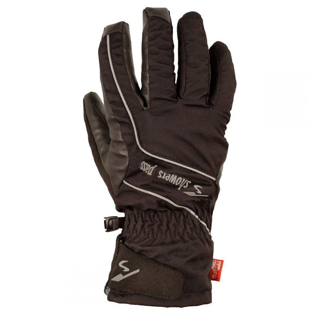 シャワーズ パス Showers Pass メンズ 自転車 グローブ【Crosspoint Hardshell WP Gloves】Black