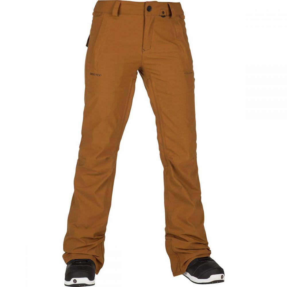 ボルコム Volcom レディース スキー・スノーボード ボトムス・パンツ【Flor Stretch Gore Pant】Copper