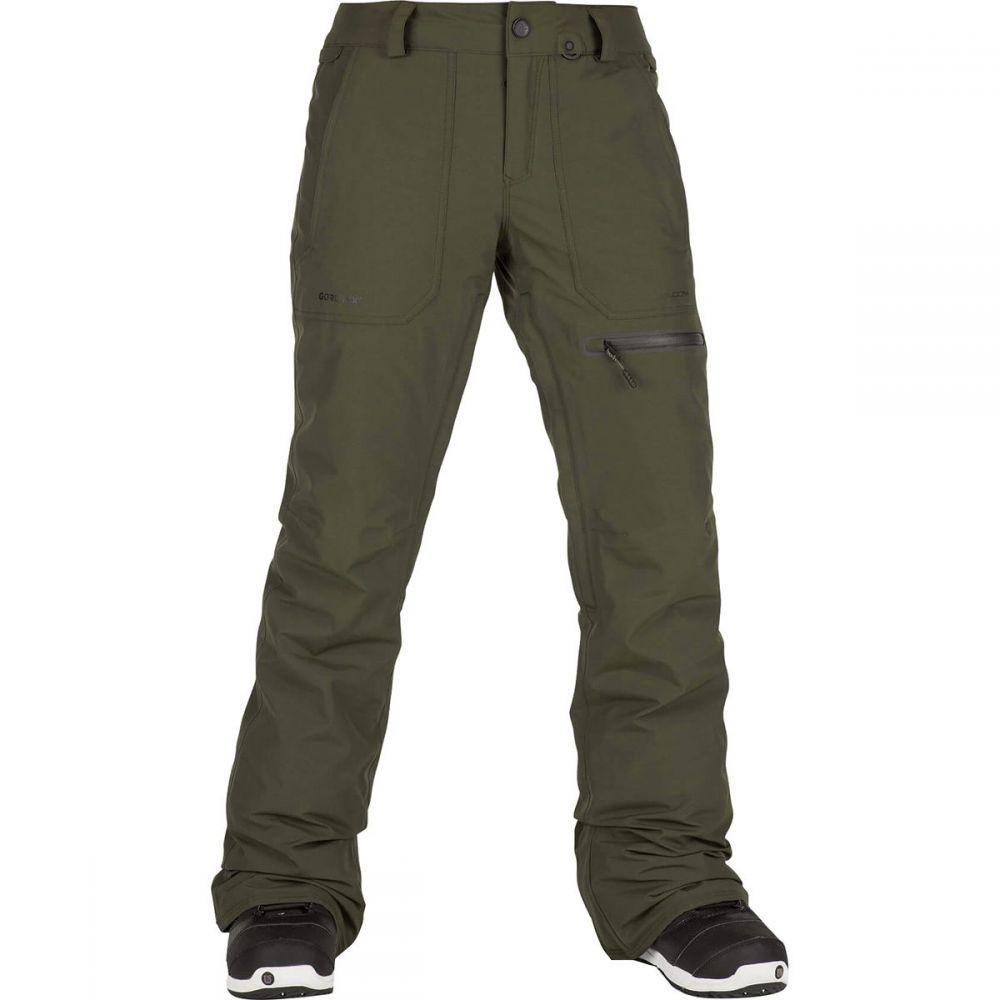 ボルコム Volcom レディース スキー・スノーボード ボトムス・パンツ【Knox Insulated Gore Pant】Forest