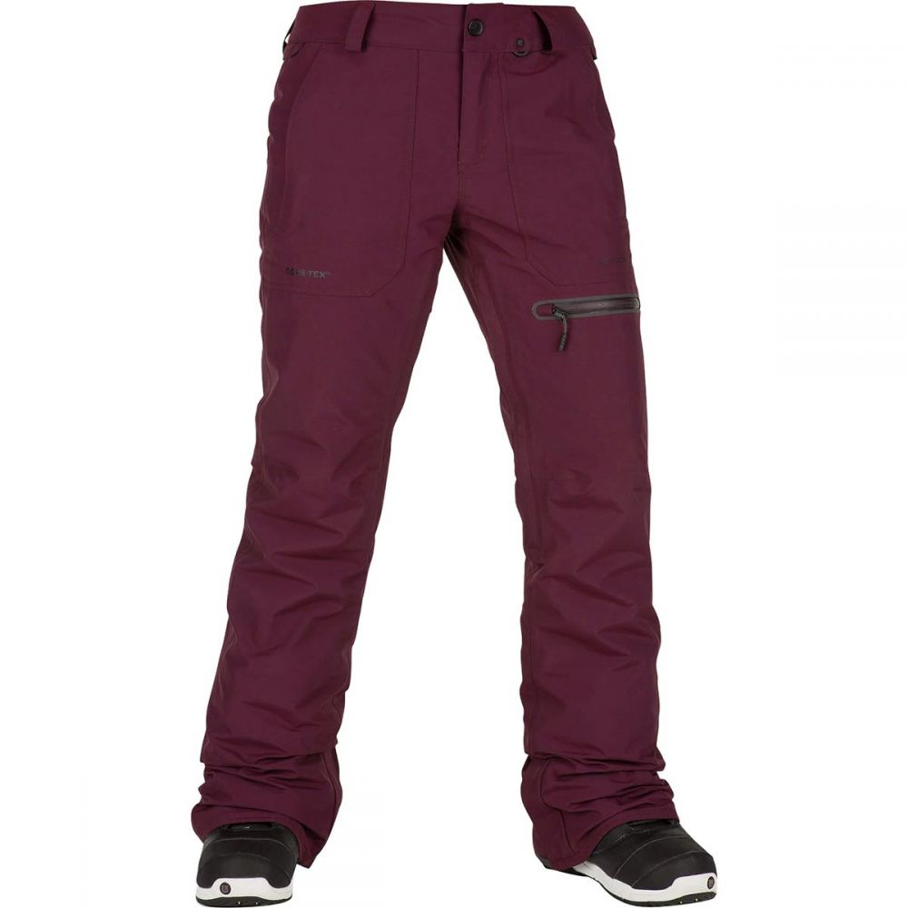 ボルコム Volcom レディース スキー・スノーボード ボトムス・パンツ【Knox Insulated Gore Pant】Merlot
