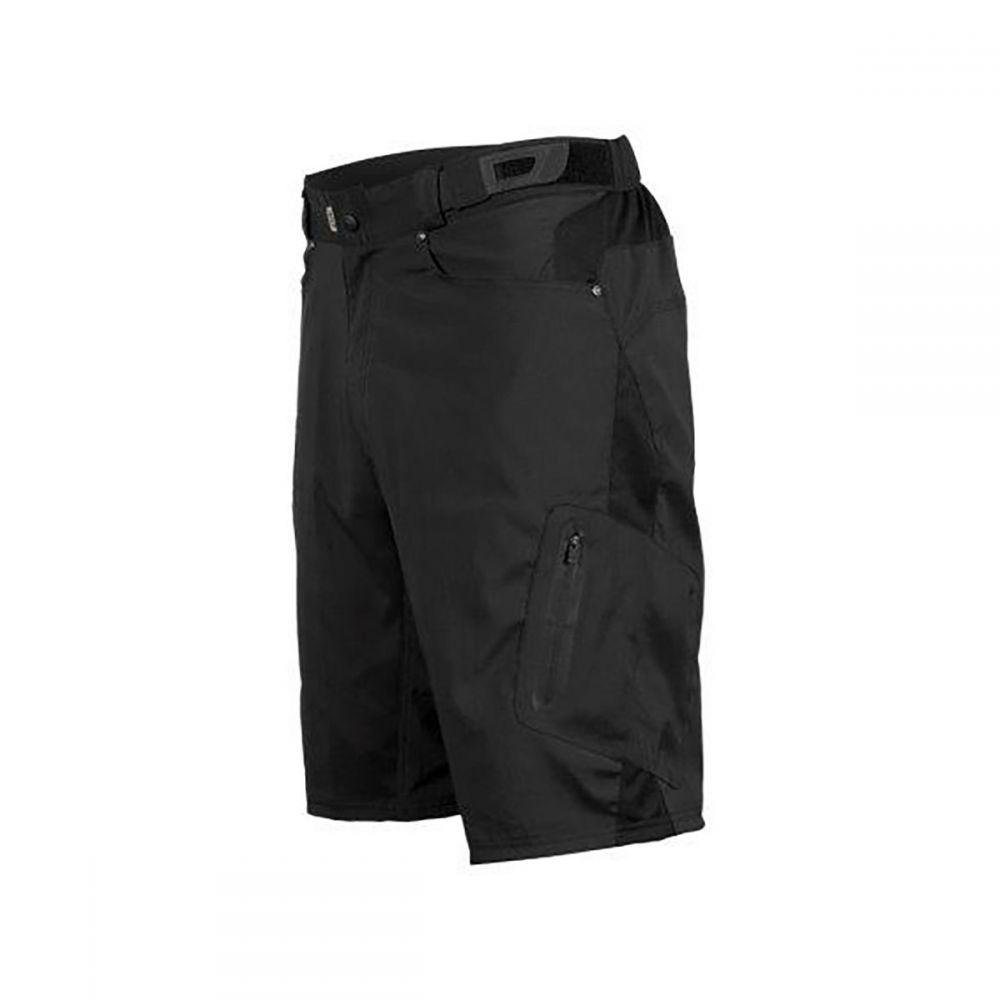 ゾイック ZOIC メンズ 自転車 ボトムス・パンツ【Ether Shorts + Essential Liners】Black