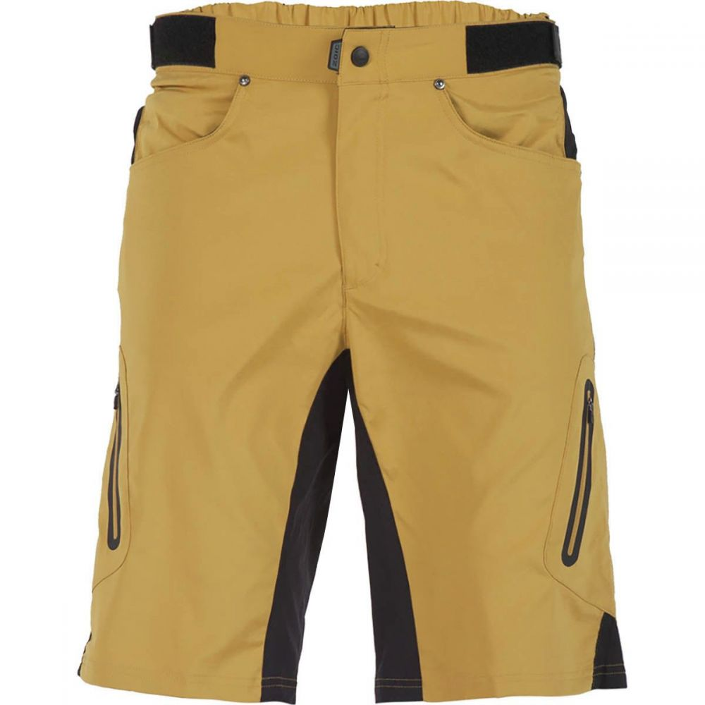 ゾイック ZOIC メンズ 自転車 ボトムス・パンツ【Ether Shorts + Essential Liners】Golden