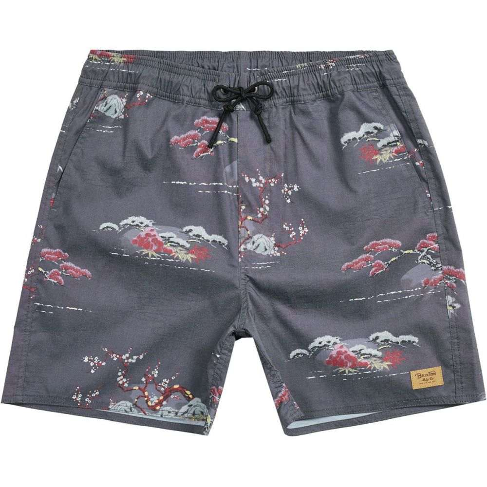 ブリクストン Brixton メンズ 水着・ビーチウェア 海パン【Havana Trunk Shorts】Dark Grey