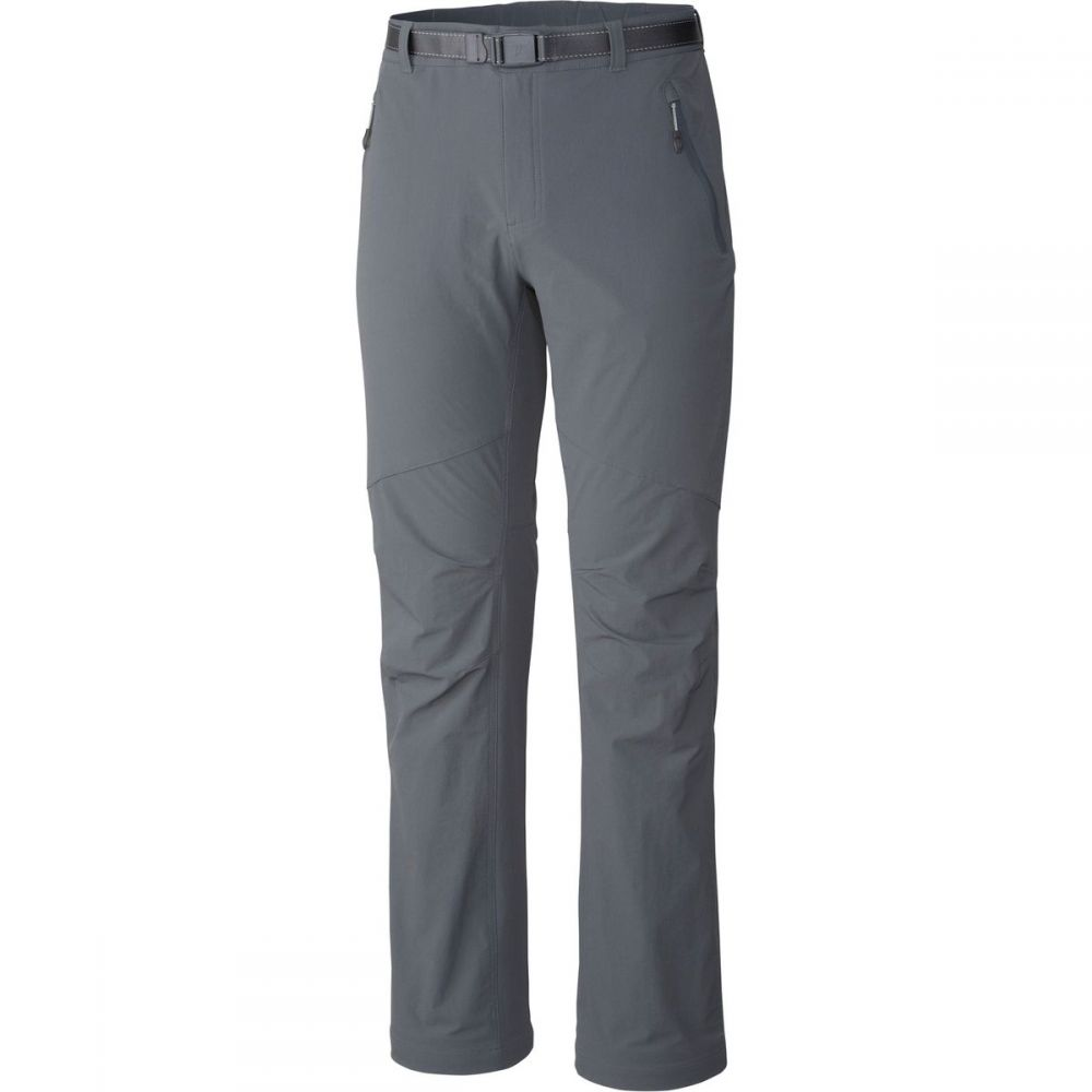 コロンビア Columbia メンズ ハイキング・登山 ボトムス・パンツ【Titanium Titan Peak Pants】Graphite