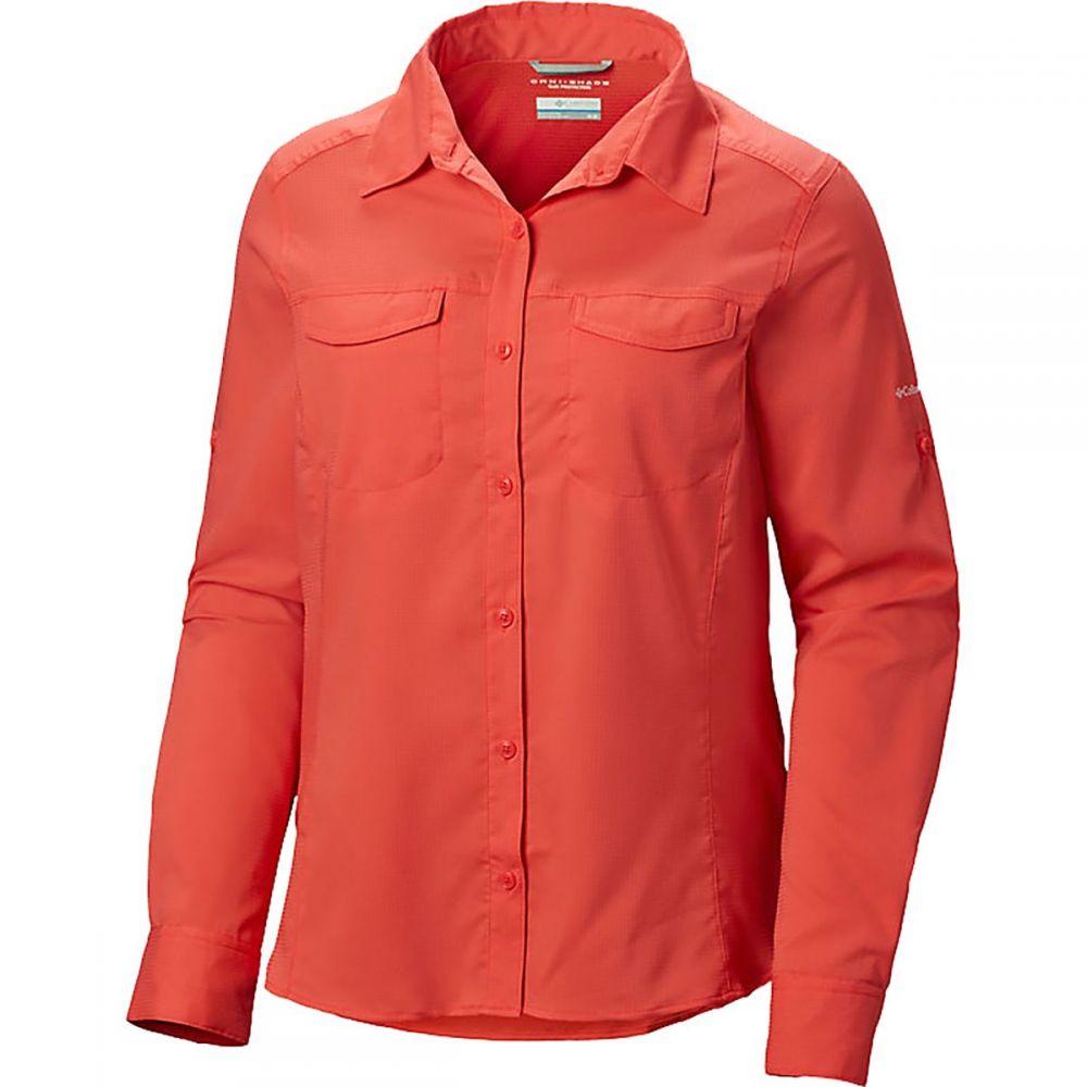 コロンビア Columbia レディース トップス【Silver Ridge Lite Long - Sleeve Shirt】Red Coral