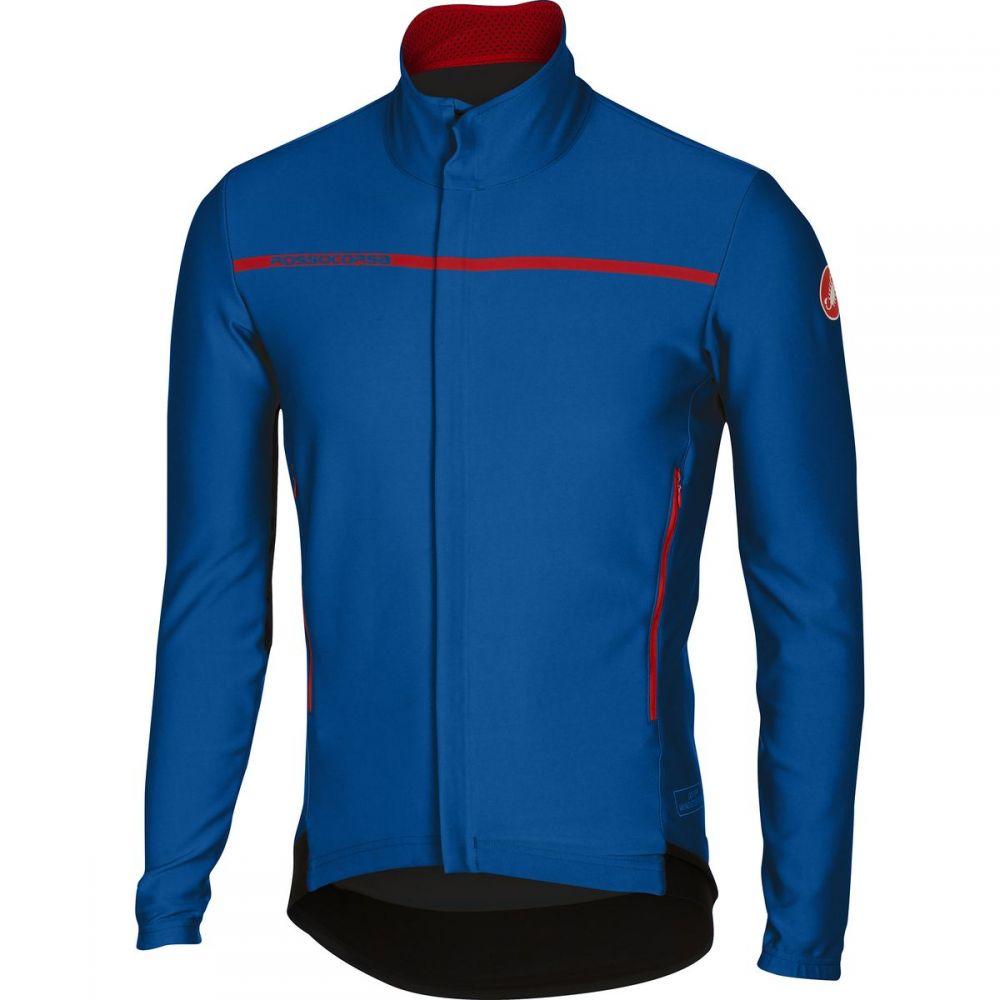 カステリ Castelli メンズ 自転車 トップス【Perfetto Long - Sleeve Jerseys】Surf Blue