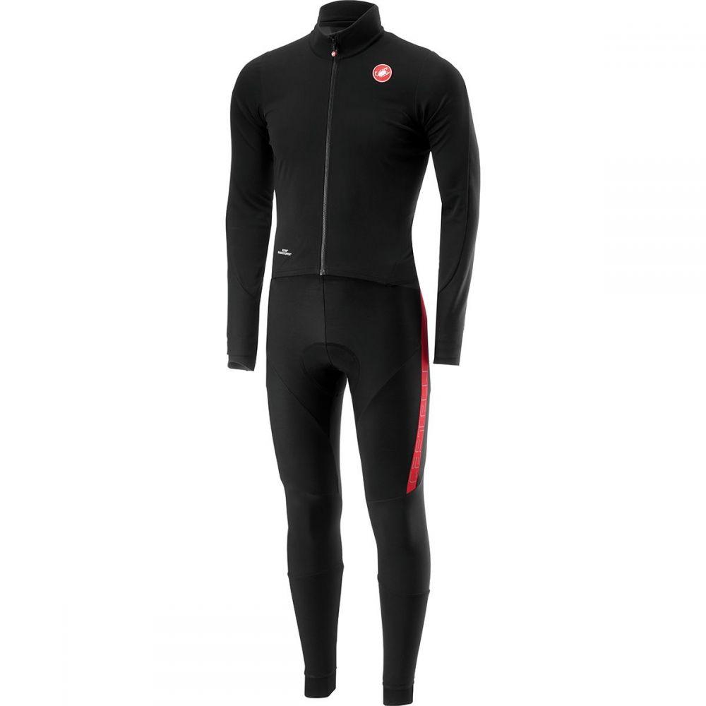 カステリ Castelli メンズ 自転車 ボトムス・パンツ【Sanremo 3 Thermosuits】Black/Red