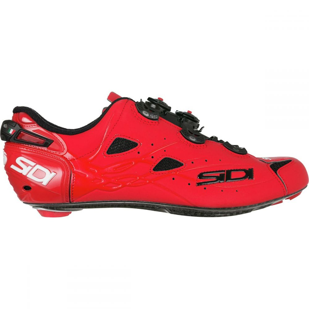 シディー Sidi メンズ 自転車 シューズ・靴【Shot Vent Carbon Cycling Shoes】Matte Red