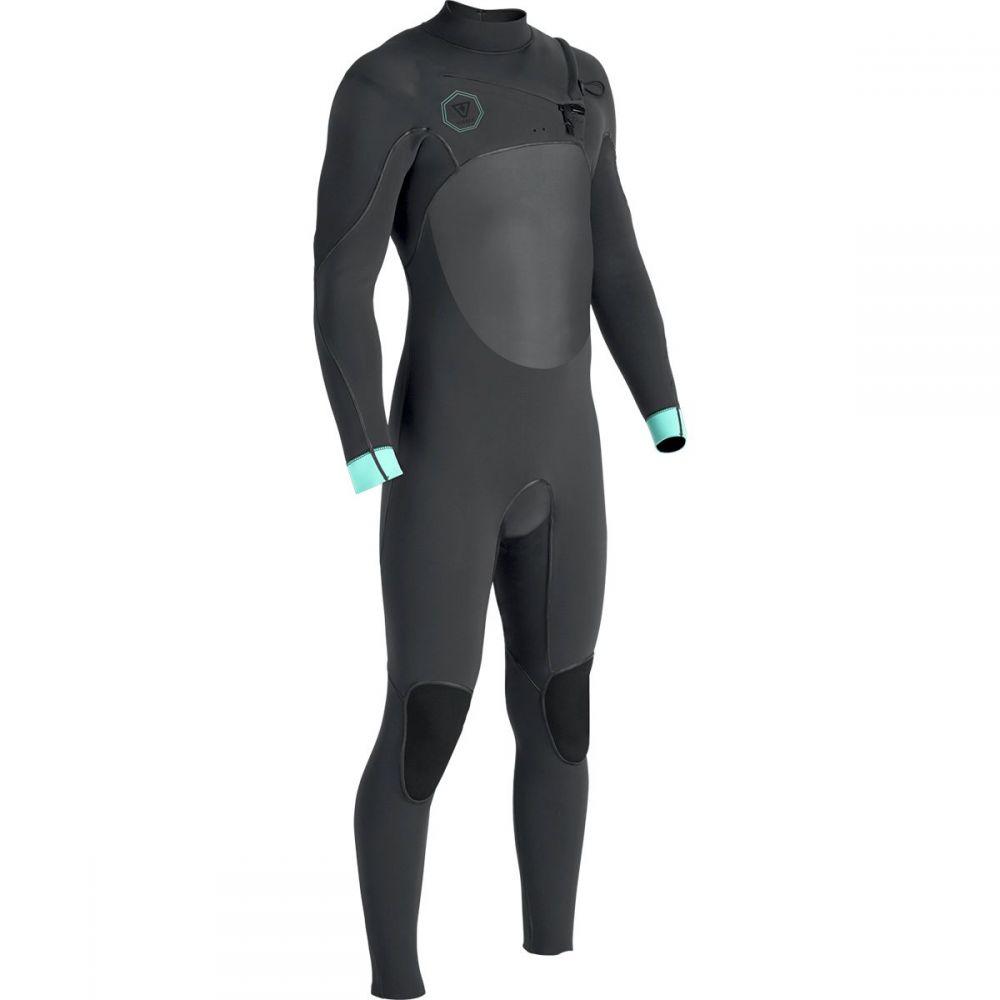 ヴィスラ Vissla メンズ 水着・ビーチウェア ウェットスーツ【The North Seas 4/3 Chest Zip Long - Sleeve Wetsuits】Charcoal