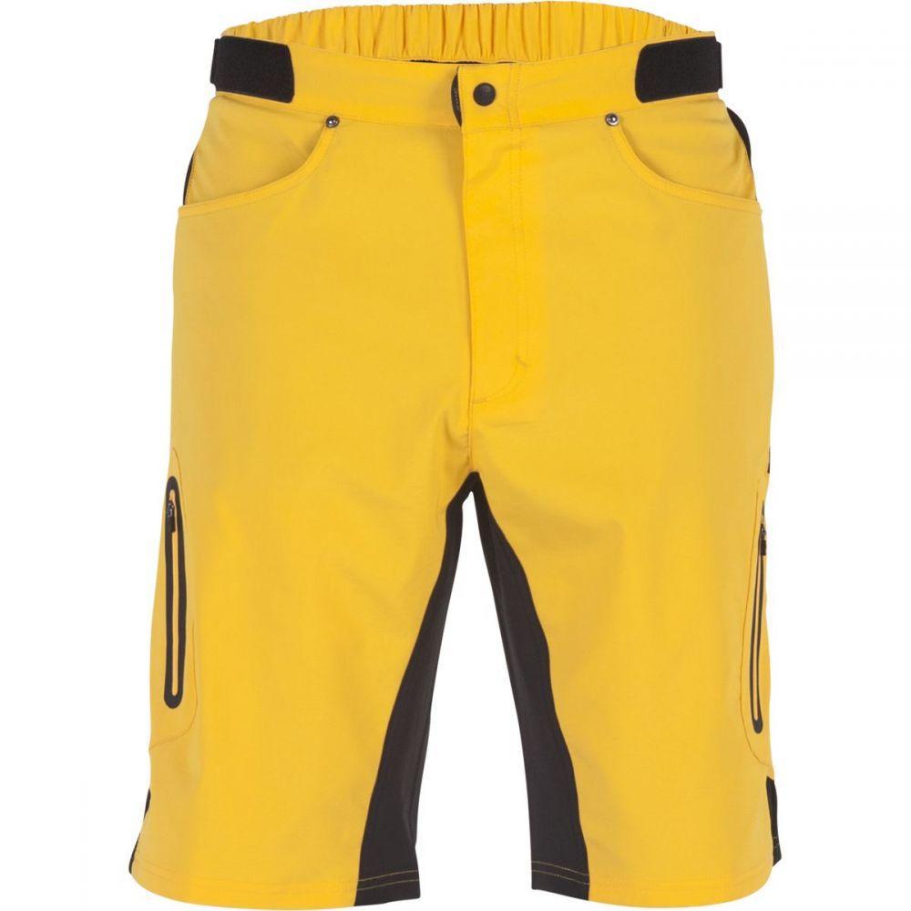 ゾイック ZOIC メンズ 自転車 ボトムス・パンツ【Ether Shorts + Essential Liners】Saffron