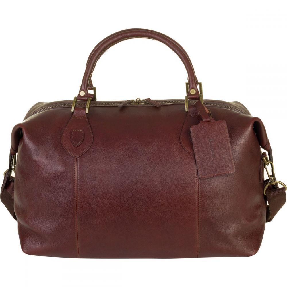 バーブァー Barbour レディース バッグ ボストンバッグ・ダッフルバッグ【Leather Med Travel Explorer Bag】Dark Brown