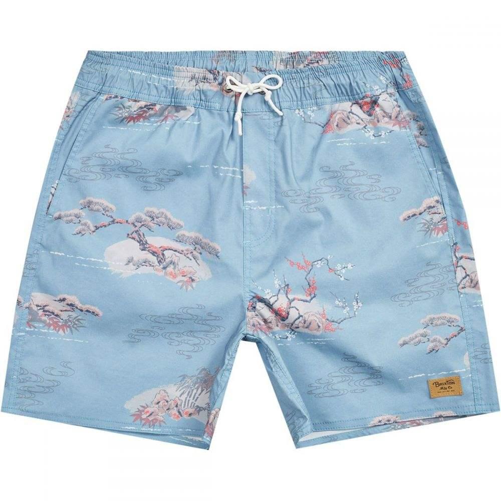 ブリクストン Brixton メンズ 水着・ビーチウェア 海パン【Havana Trunk Shorts】Blue Dream