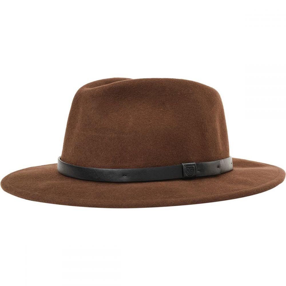 ブリクストン Brixton レディース 帽子【Messer Hat】Brown/Black