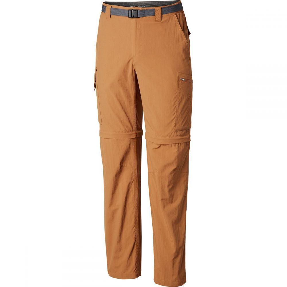 コロンビア Columbia メンズ ハイキング・登山 ボトムス・パンツ【Silver Ridge Convertible Pants】Camel Brown