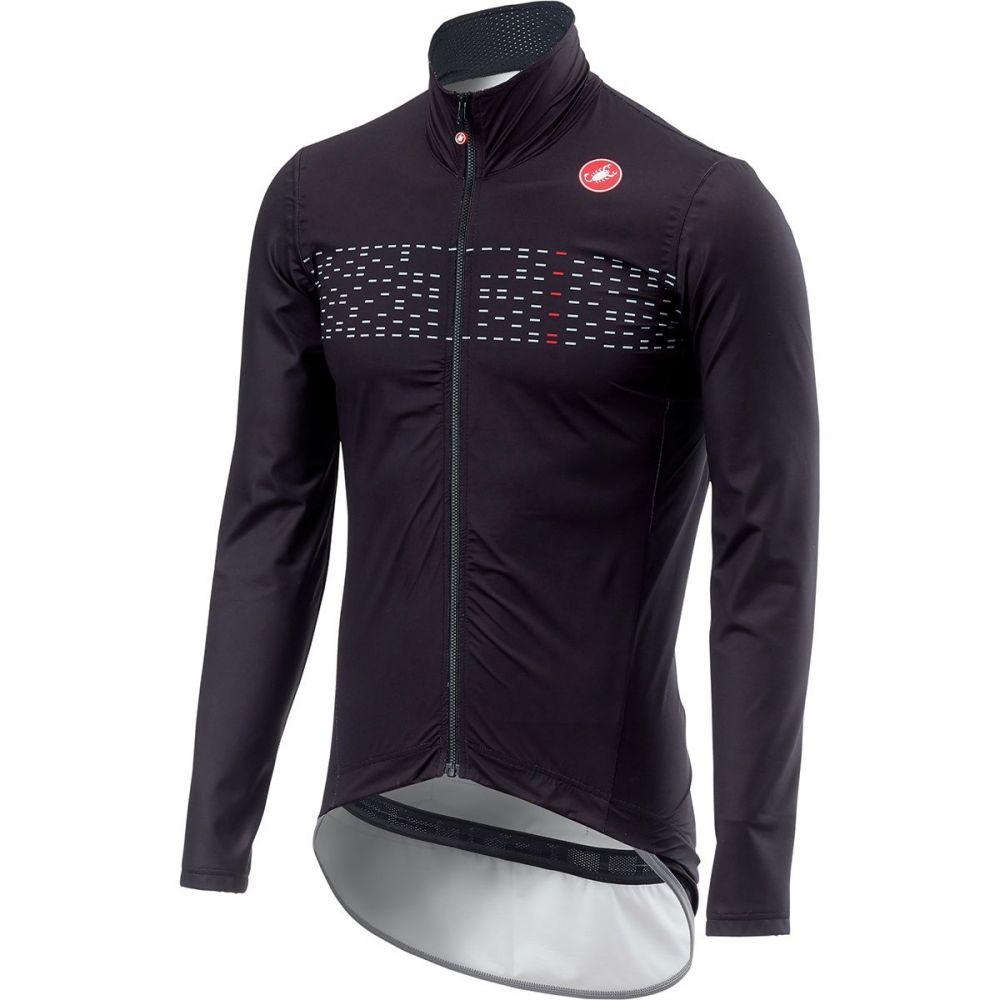 カステリ Castelli メンズ 自転車 アウター【Pro Fit Light Rain Jackets】Light Black