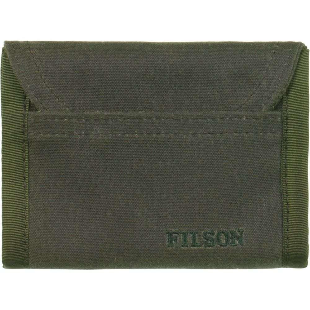 フィルソン Filson メンズ 財布【Smokejumper Wallets】Otter Green