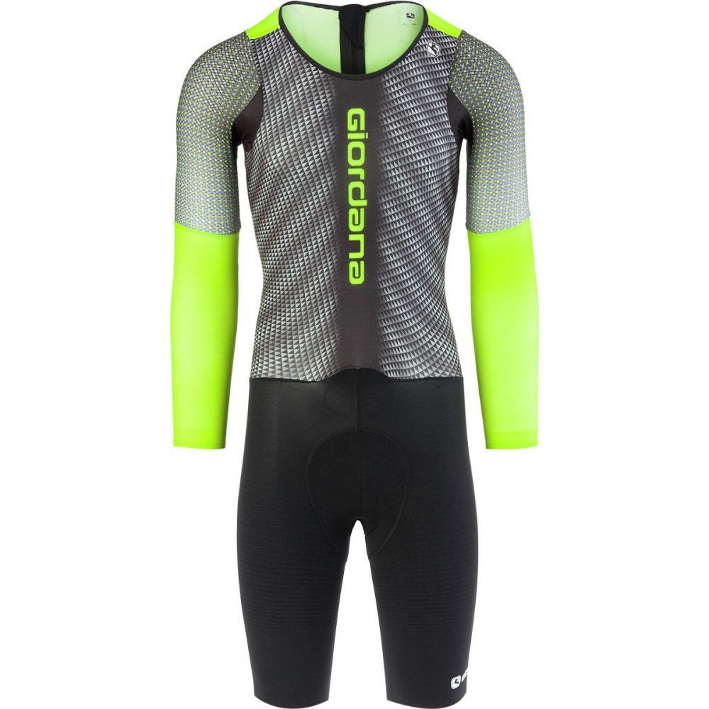 ジョルダーノ Giordana メンズ 自転車 ボトムス・パンツ【NX - G Chronosuits】Black/Green