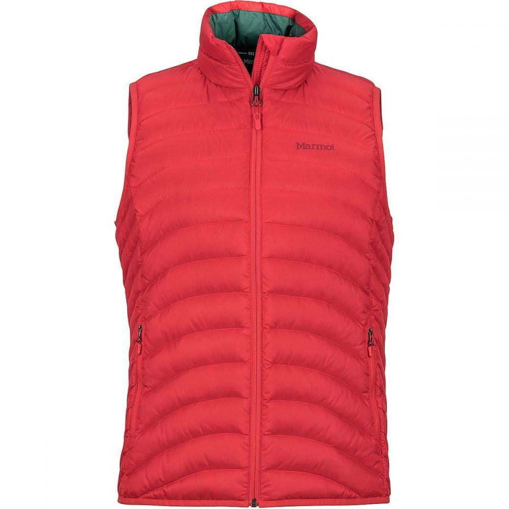 マーモット Marmot レディース トップス ベスト・ジレ【Aruna Down Vest】Scarlet Red