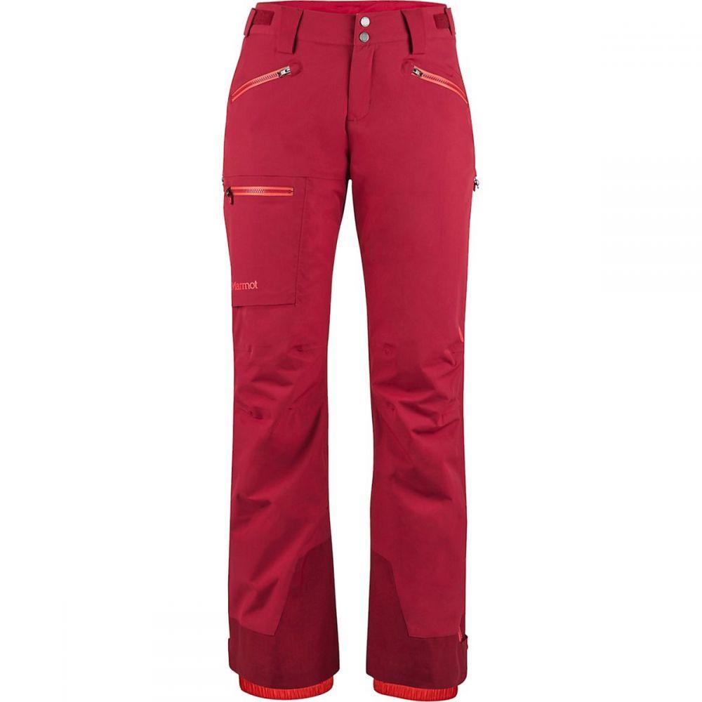 マーモット Marmot レディース スキー・スノーボード ボトムス・パンツ【Refuge Pant】Sienna Red