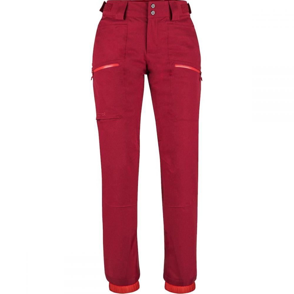 マーモット Marmot レディース スキー・スノーボード ボトムス・パンツ【Schussing Featherless Pant】Sienna Red