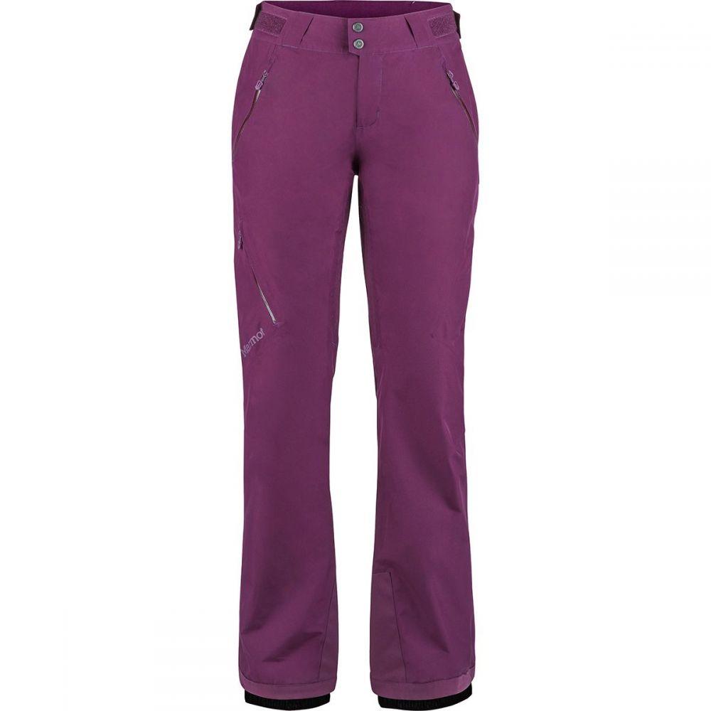 マーモット Marmot レディース スキー・スノーボード ボトムス・パンツ【Lightray Shell Pant】Dark Purple
