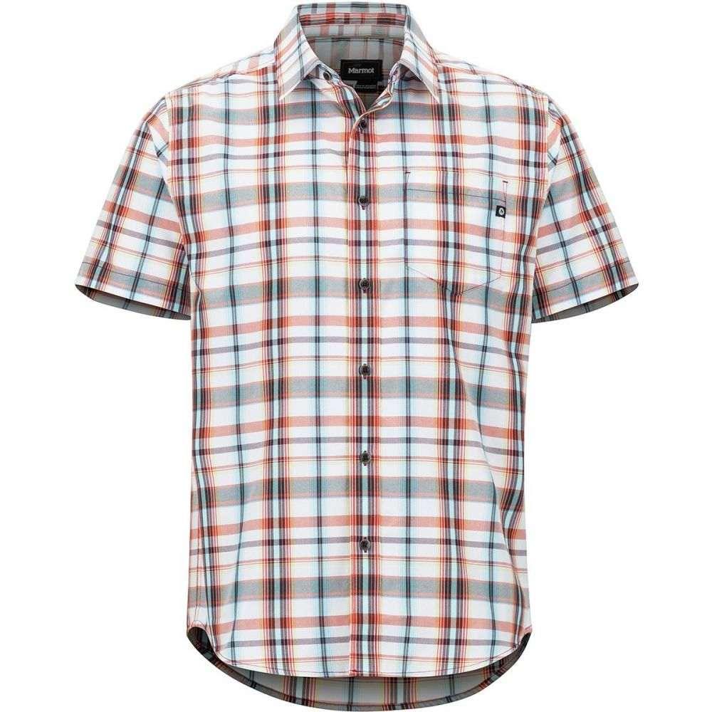 マーモット Marmot メンズ トップス 半袖シャツ【Lykken Short - Sleeve Shirts】Desert Red