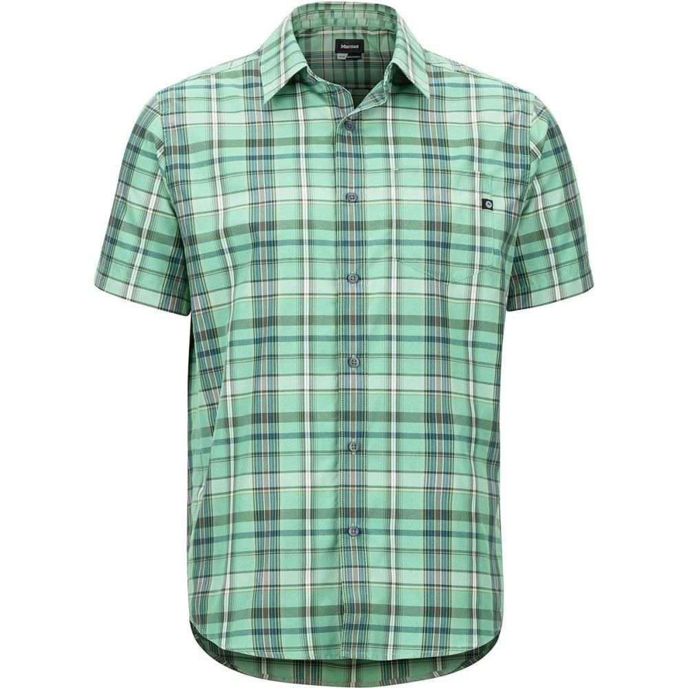 マーモット Marmot メンズ トップス 半袖シャツ【Lykken Short - Sleeve Shirts】Pond Green