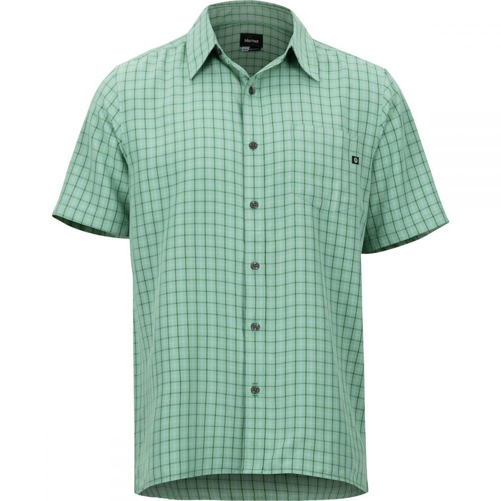 マーモット Marmot メンズ トップス 半袖シャツ【Eldridge Shirts】Pond Green