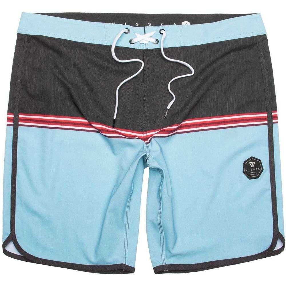 ヴィスラ Vissla メンズ 水着・ビーチウェア 海パン【Dredges Board Shorts】Cool Blue
