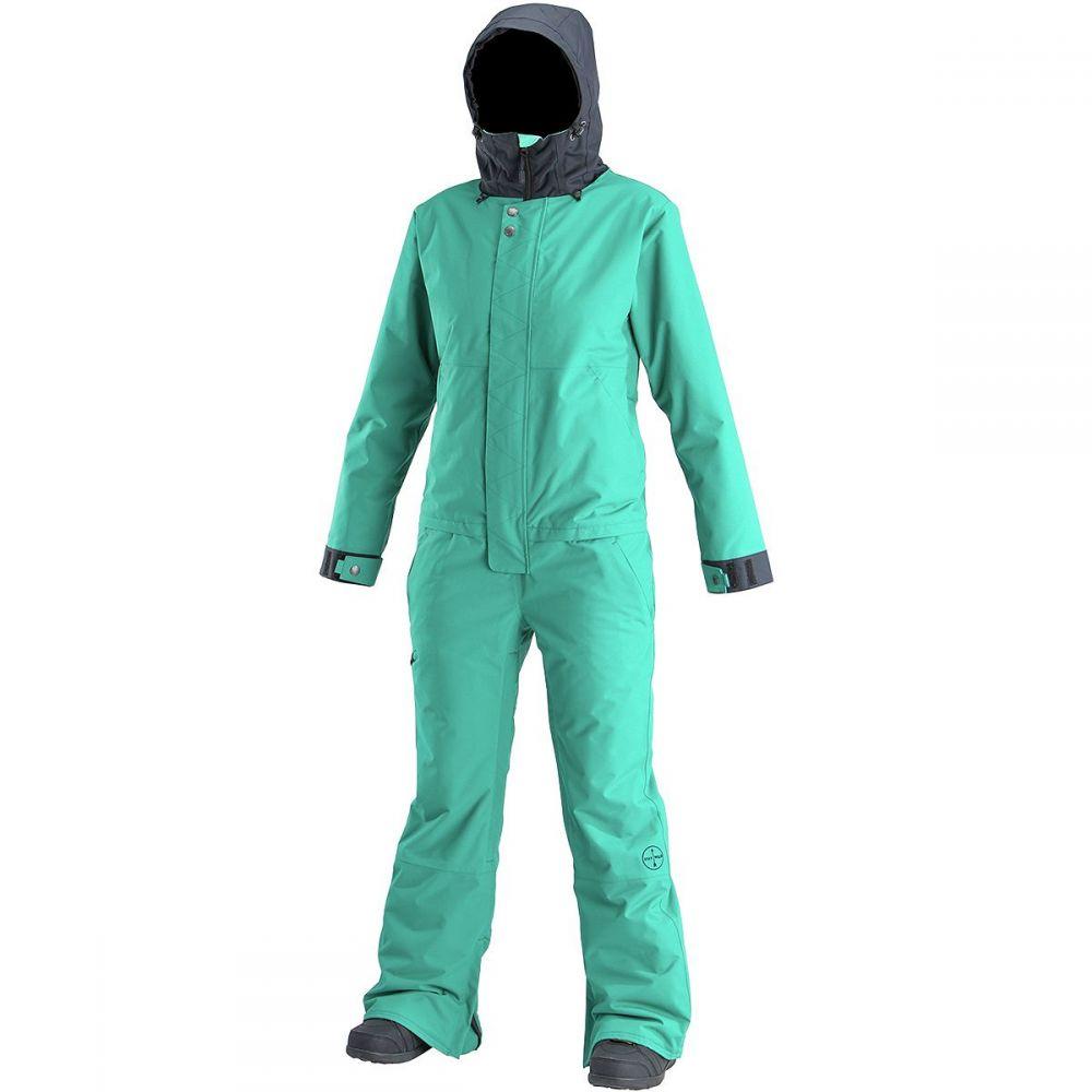 エアブラスター Airblaster レディース スキー・スノーボード アウター【Insulated Freedom Suit】GNU Hot Teal