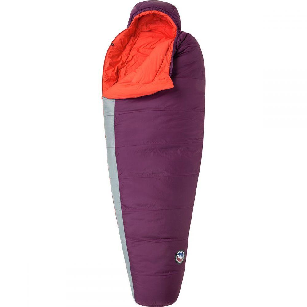 ビッグアグネス Big Agnes レディース ハイキング・登山【Blue Lake Sleeping Bag: 25 Degree Synthetic】Beet/Paprika