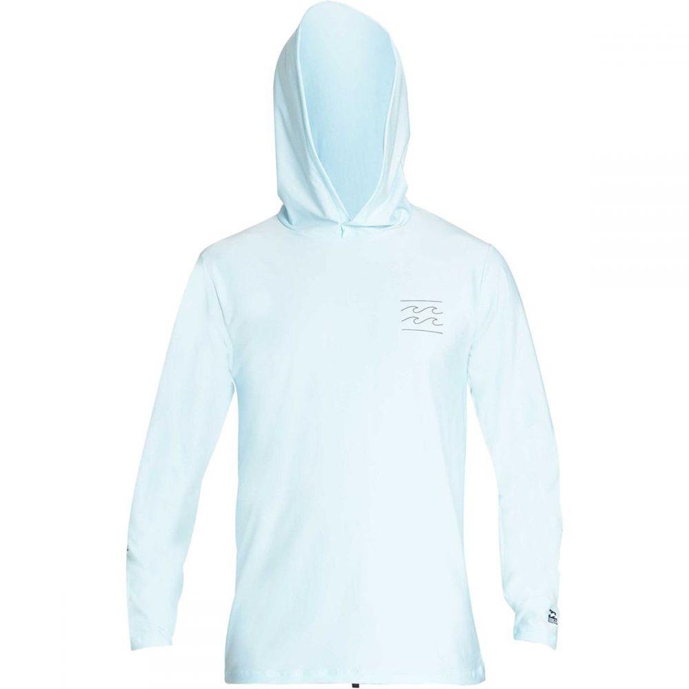 ビラボン Billabong メンズ 水着・ビーチウェア ラッシュガード【Unity Loose Fit Long - Sleeve Hooded Rashguards】Coastal Blue