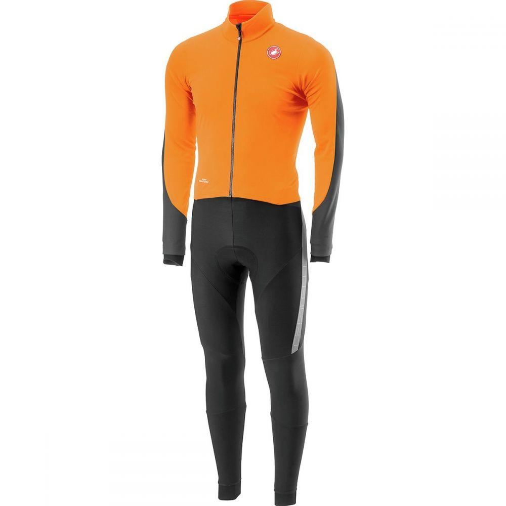 カステリ Castelli メンズ 自転車 ボトムス・パンツ【Sanremo 3 Thermosuits】Orange/Black