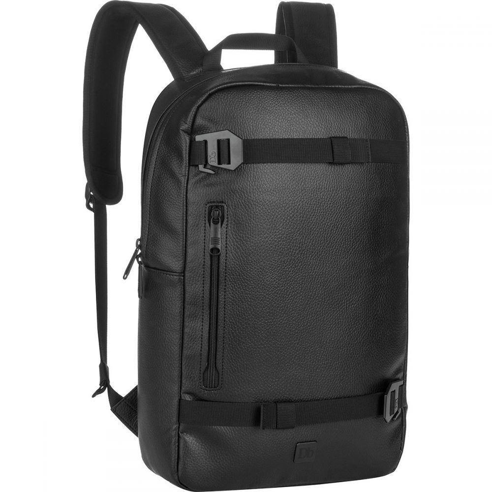 ディービー Db レディース バッグ バックパック・リュック【The Scholar Backpack】Black Leather