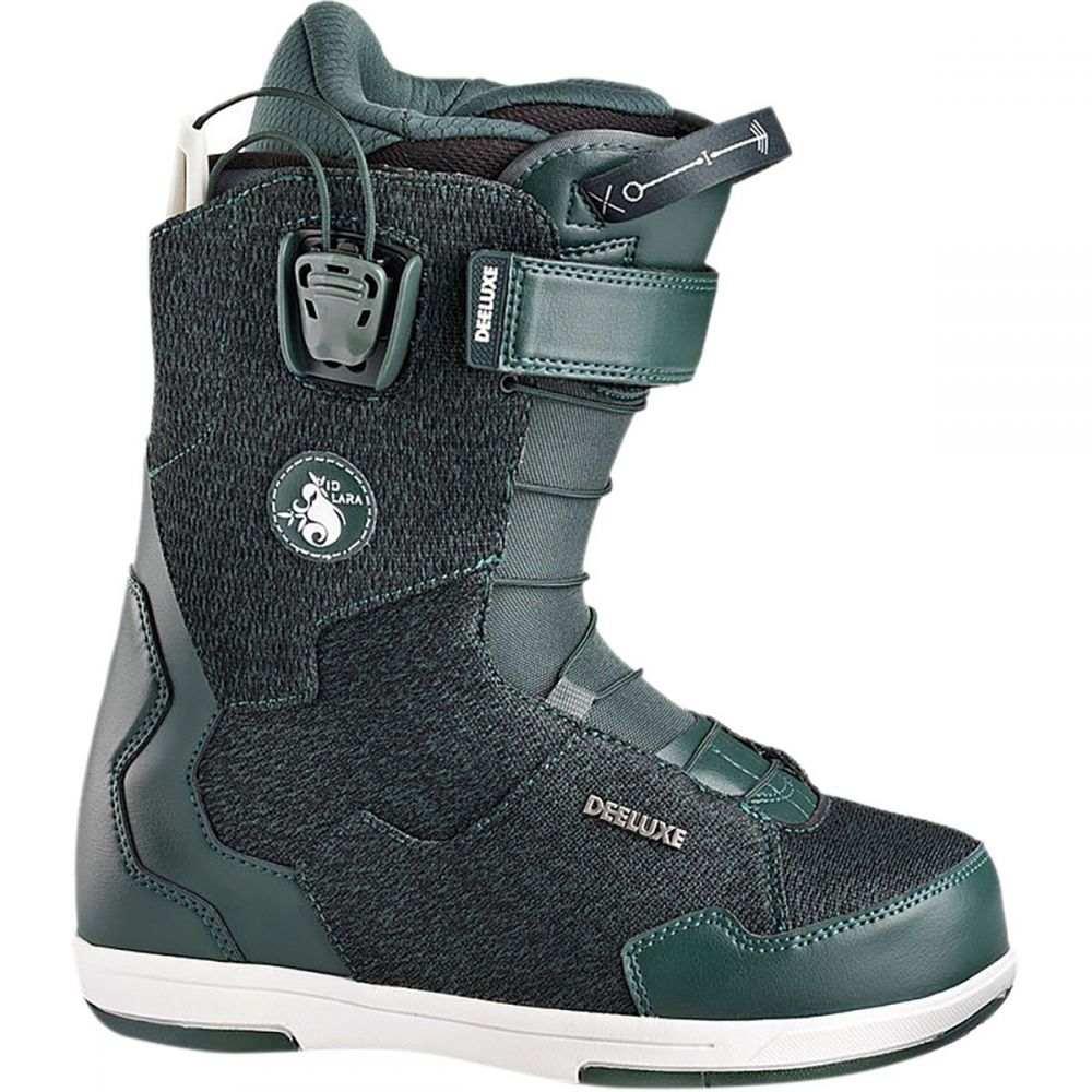 ディーラックス Deeluxe レディース スキー・スノーボード シューズ・靴【D 7.1 Lara Speedlace Snowboard Boot】Green/PF Liner