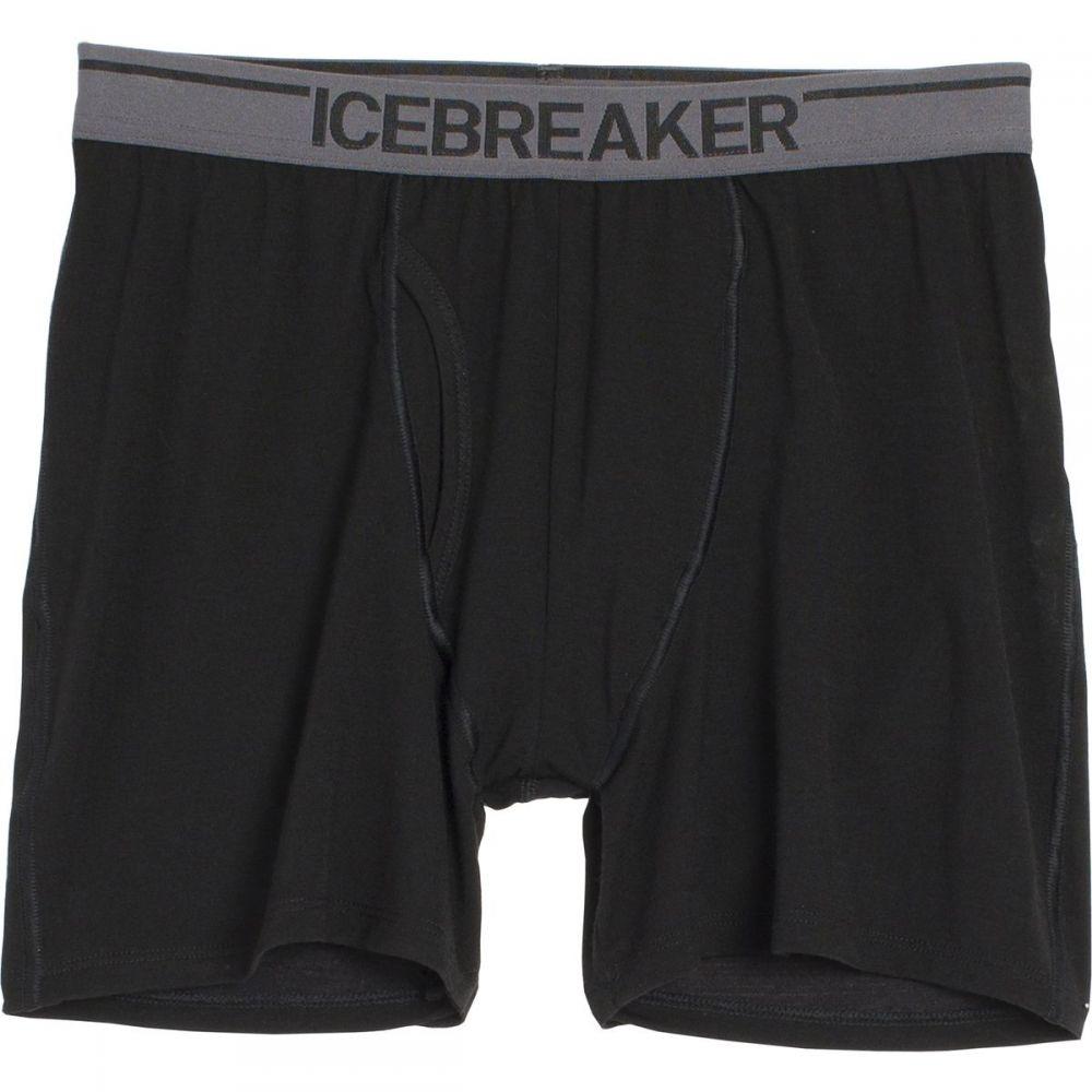 アイスブレーカー Icebreaker メンズ インナー・下着 ボクサーパンツ【Anatomica Boxer with Flys】Black/Monsoon