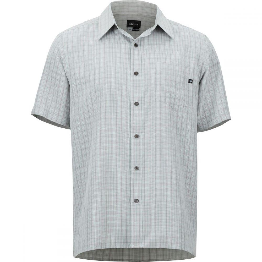 マーモット Marmot メンズ トップス 半袖シャツ【Eldridge Shirts】Glacier Grey