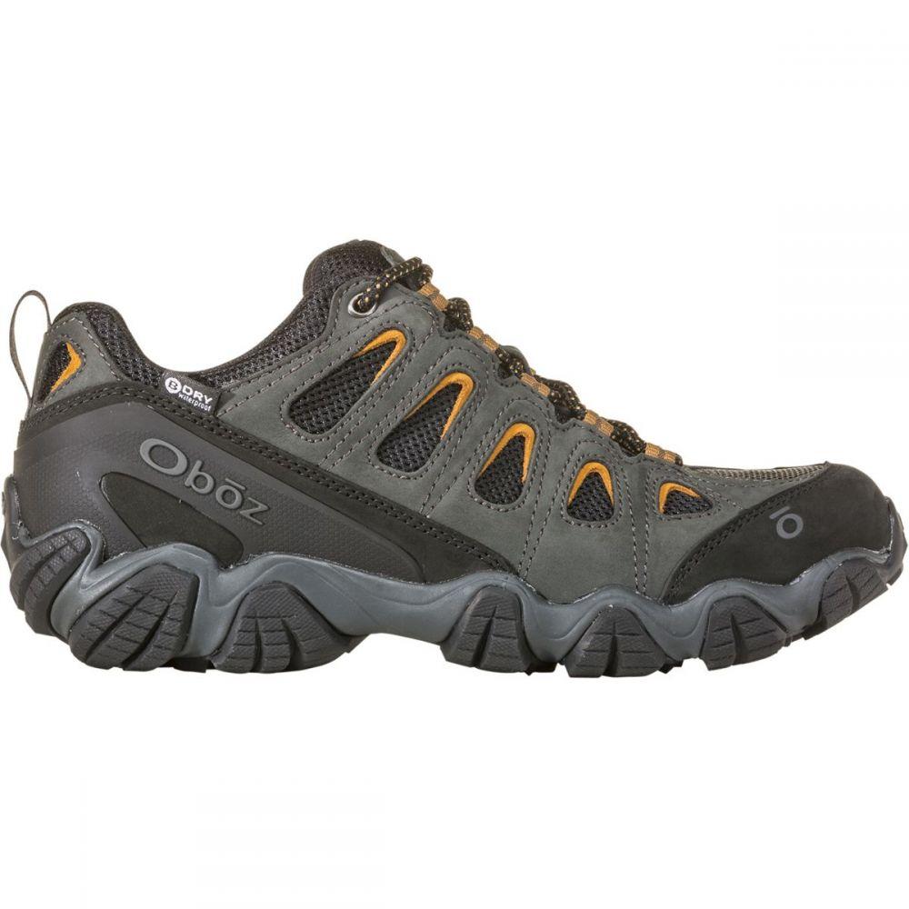 オボズ Oboz メンズ ハイキング・登山 シューズ・靴【Sawtooth II Low B - Dry Hiking Shoes】Shadow/Burlap