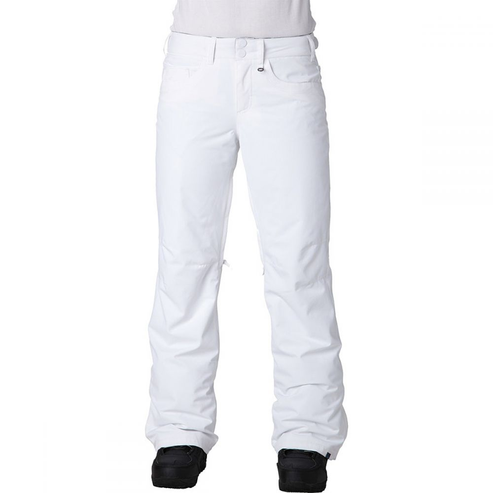 ロキシー Roxy レディース スキー・スノーボード ボトムス・パンツ【Backyard Pant】Bright White