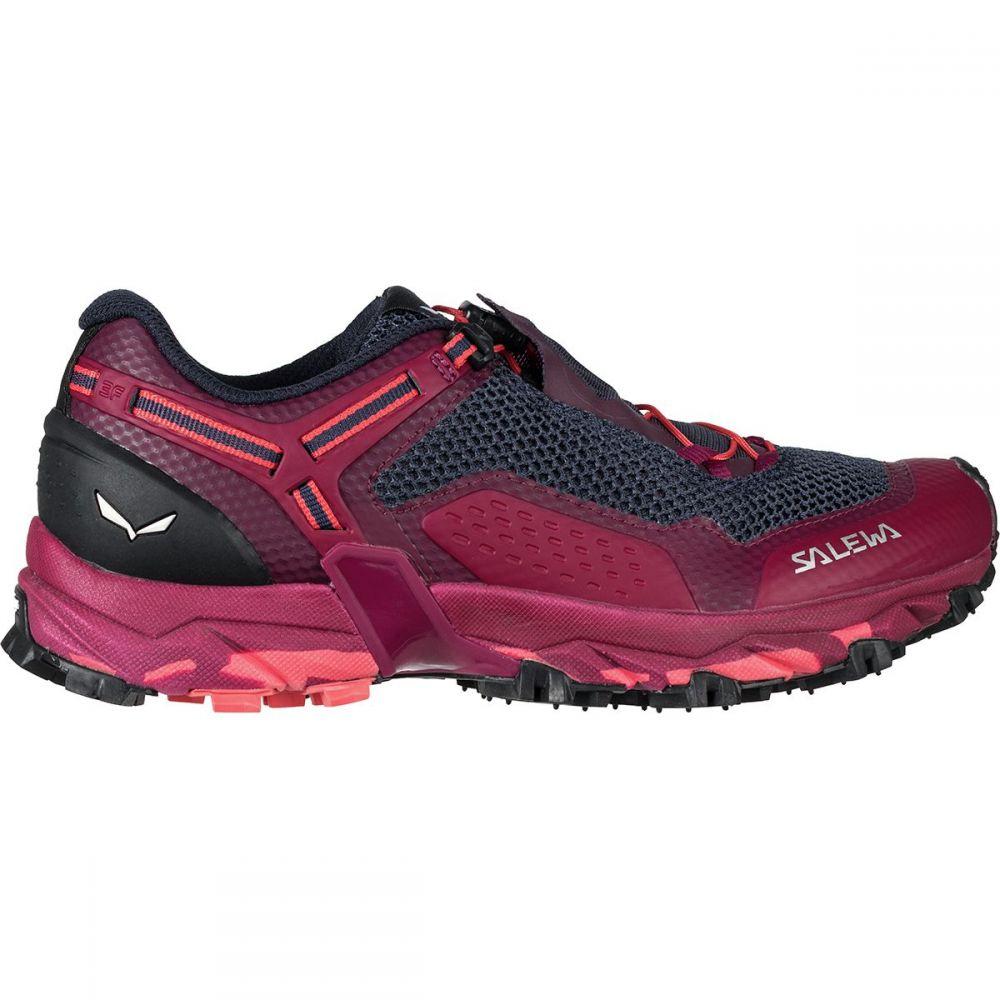 サレワ Salewa レディース ランニング・ウォーキング シューズ・靴【Ultra Train 2 Trail Running Shoe】Red Plum/Punch
