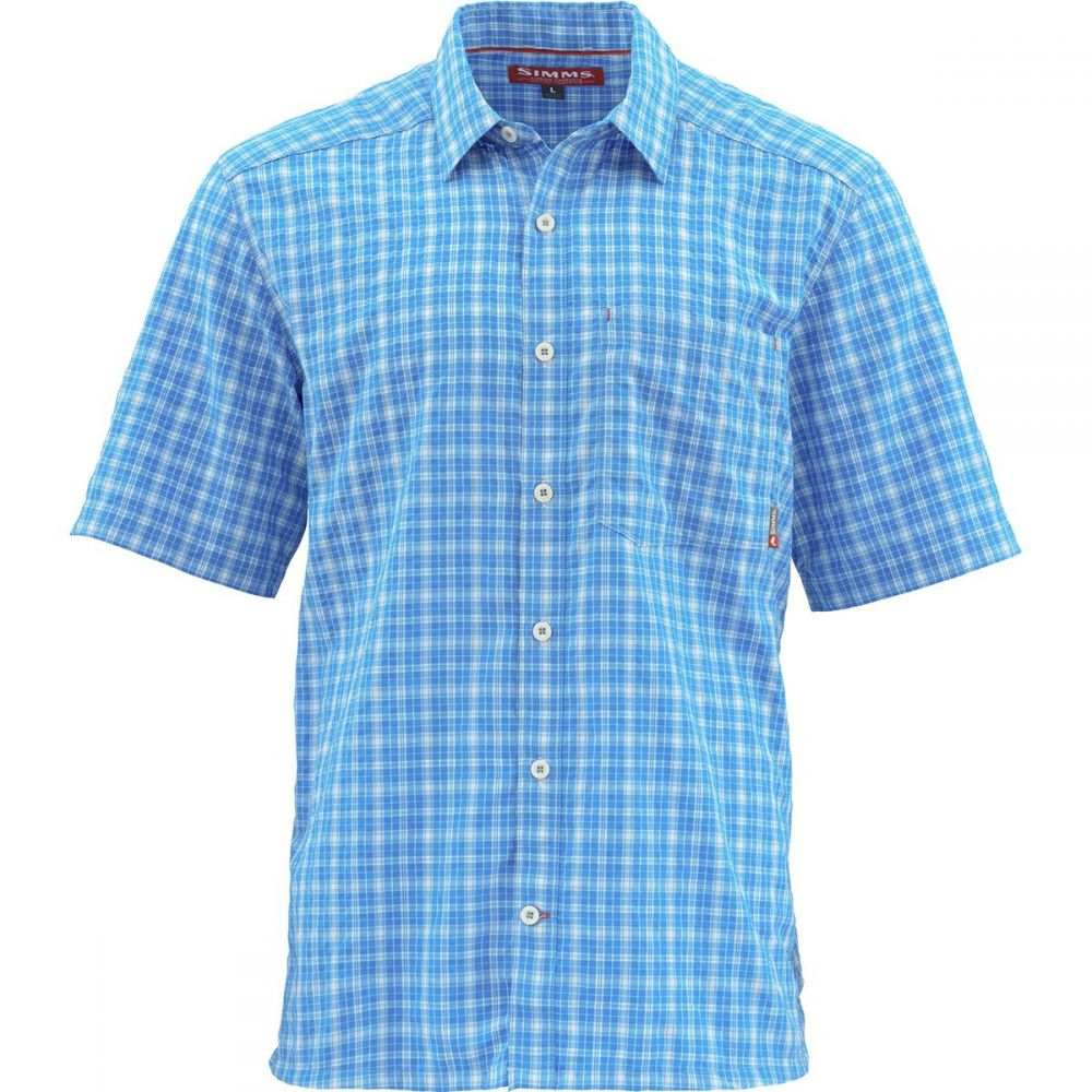 シムズ Simms メンズ トップス 半袖シャツ【Morada Short - Sleeve Shirts】Olympic Plaid