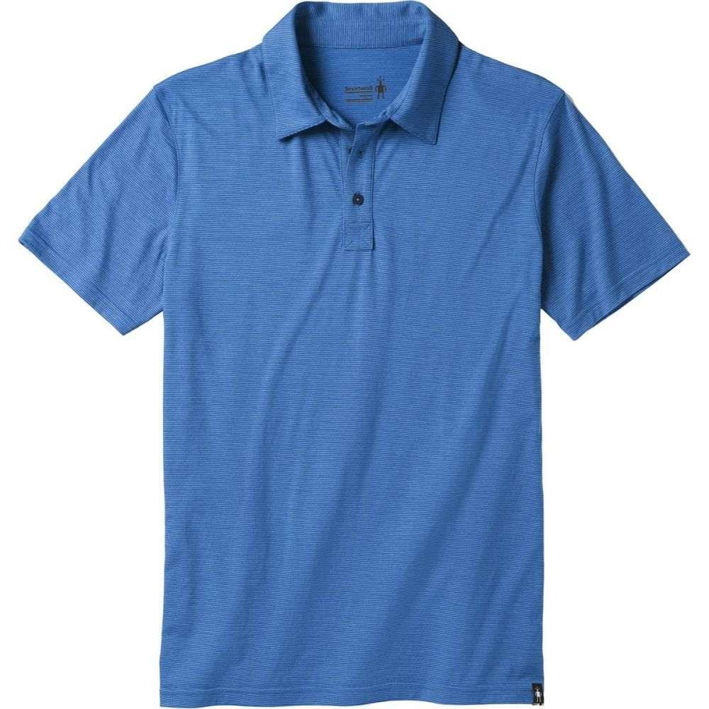 スマートウール Smartwool メンズ トップス ポロシャツ【Merino 150 Pattern Polo Shirts】Bright Cobalt